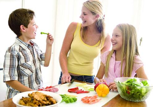 Pautas de alimentación en los niños