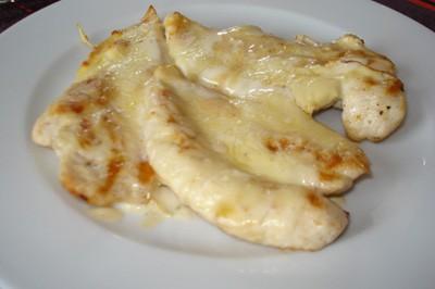 Pollo al queso